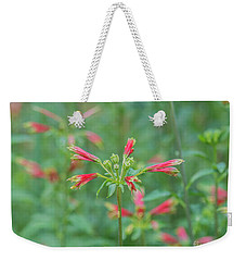 Blossoms In The Green Weekender Tote Bag