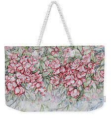 Blossoms Weekender Tote Bag by Kim Tran