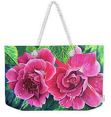 Blossum Buddies Weekender Tote Bag