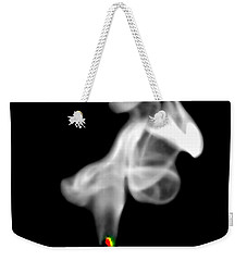 Weekender Tote Bag featuring the photograph Blow Out by Diana Angstadt