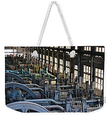 Blower Building Weekender Tote Bag