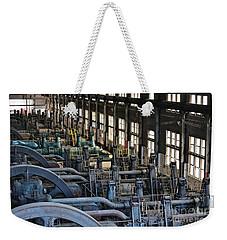 Blower Building Weekender Tote Bag
