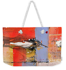 Blowin In The Wind - Colorful Linear Abstract Art Study Weekender Tote Bag