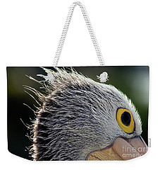 Weekender Tote Bag featuring the photograph Blowin' In The Wind by Stephen Mitchell