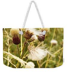 Blowing Away Weekender Tote Bag by Judi Saunders