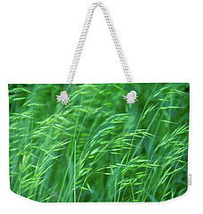 Blowing Green Weekender Tote Bag