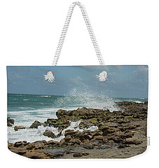 Blowing Rocks Preserve Jupiter Island Florida Weekender Tote Bag