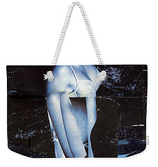 Blue 2 Weekender Tote Bag