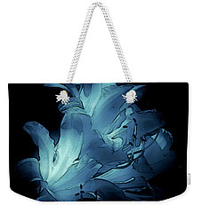 Blue Abstract No. 1 Weekender Tote Bag