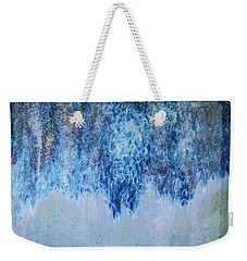 Blue Abstract One Weekender Tote Bag