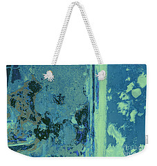 Blue Abstraction Weekender Tote Bag