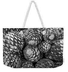 Blue Agave Hearts  Weekender Tote Bag by John  Mitchell