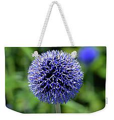 Blue Allium Weekender Tote Bag by Terence Davis