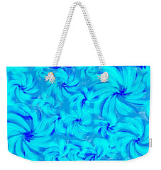 Blue And Turquoise 2 Weekender Tote Bag