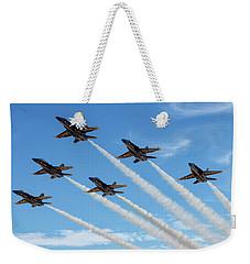 Blue Angels Delta Weekender Tote Bag