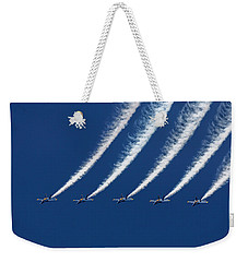Blue Angels Formation Weekender Tote Bag