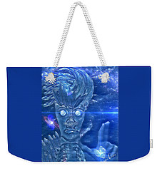 Blue Avian Weekender Tote Bag