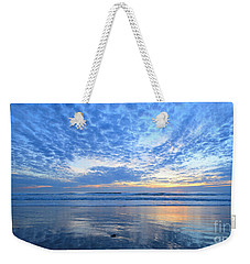 Weekender Tote Bag featuring the photograph Beach Home Blues by John F Tsumas