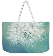 Weekender Tote Bag featuring the photograph Blue Awakening by Trish Mistric