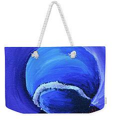 Blue Ball Weekender Tote Bag