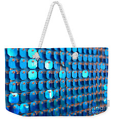 Blue Weekender Tote Bag by Barbara Bardzik