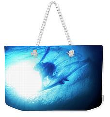 Blue Barrel Weekender Tote Bag