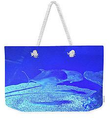 Blue Below Weekender Tote Bag