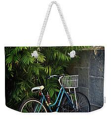 Blue Bike-  By Linda Woods Weekender Tote Bag