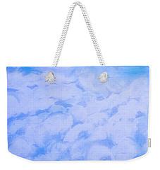 Blue  Weekender Tote Bag by Heather  Hiland