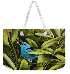 Blue Bird In Branson Weekender Tote Bag