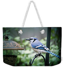 Blue Bird Of Happiness Weekender Tote Bag