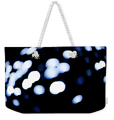 Weekender Tote Bag featuring the photograph Blue Black, No.1 by Eric Christopher Jackson
