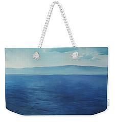 Blue Blue Sky Over The Sea  Weekender Tote Bag