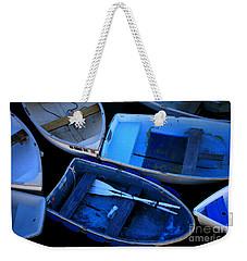 Blue Boats Weekender Tote Bag