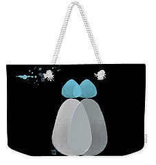 Blue Bodies Weekender Tote Bag by Kandy Hurley