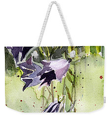 Blue Bonnets Weekender Tote Bag by Mindy Newman