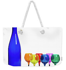 Blue Bottle #2429 Weekender Tote Bag