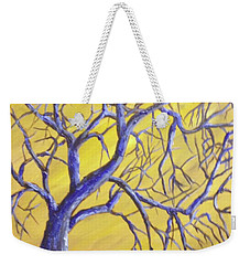 Branches Of Blue Weekender Tote Bag