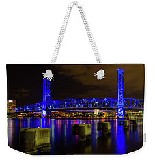Blue Bridge 1 Weekender Tote Bag