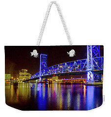 Blue Bridge 2 Weekender Tote Bag