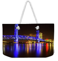 Blue Bridge 3 Weekender Tote Bag