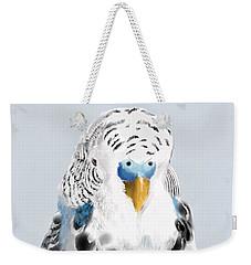 Blue Budgie Weekender Tote Bag