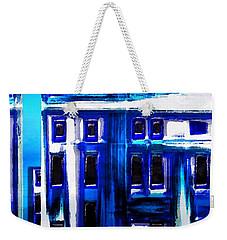 Blue Buildings Weekender Tote Bag