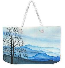 Blue Calm Weekender Tote Bag