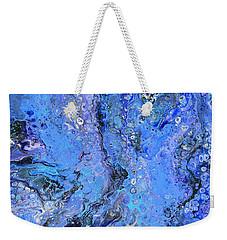 Blue Capri Weekender Tote Bag