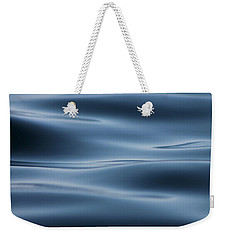 Weekender Tote Bag featuring the photograph Blue by Cathie Douglas