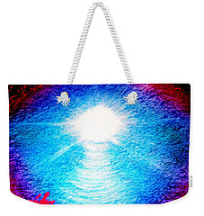 Blue Cave Weekender Tote Bag