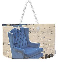 Blue Chair Weekender Tote Bag