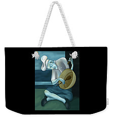 Blue Chef Weekender Tote Bag