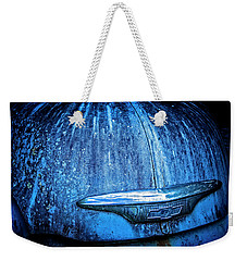 Blue Chevy Weekender Tote Bag